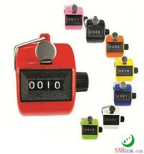 3 Colors Digital Hand Held Tally Clicker Counter 4 Digit Number Clicker Hand