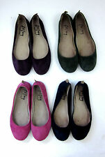 French Sole FS/NY Sloop Suede Ballet Flats Shoes 7.5 8 Choose Color Italy Made