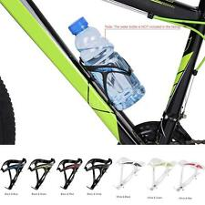 Super-light Bike Bicycle Plastic Water Bottle Holder W-shape Cage 7 Colors R1G6