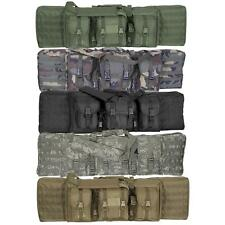 "Enhanced Voodoo Tactical 42"" MOLLE Soft Rifle Case, Padded Weapon Bag"