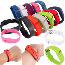 Replacement Wrist Band  For Fitbit Flex Bracelet Wristband With Metal Buckle