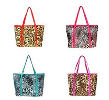 Women Fashion Leopard Pattern Shoulder Bag Handbag Purse Handbag Purse  4Colors