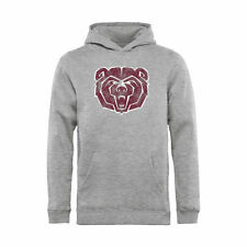 Missouri State University Bears Youth Ash Classic Primary Logo Pullover Hoodie