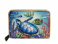 Anuschka Handbags Credit and Business Card Holder Wallet- Choose SZ/Color.
