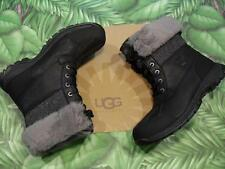 New Box UGG M BUTTE Black Waterproof Leather Winter Boot Mens
