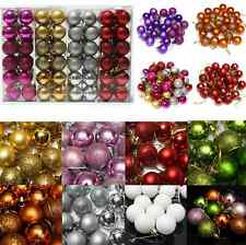 24pcs Christmas Tree Decor Ball Bauble Hanging Home Xmas Party Ornament Decor UG