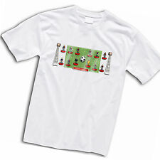 Crystal Palace Football Team Retro Subbuteo Style T-Shirt