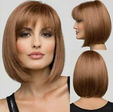 Hair Wigs Full Straight Cosplay 4 Colors Short Hair Fashion Party Womens Sexy