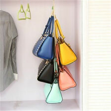 New 4 Hooks Handbag Purse Bag Holder Shelf Hanger Hanging Rack Storage Organizer
