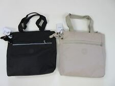 NWT Kipling Brienne Tote Black sand large shoulder bag