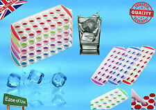 1xNew POPOut ice-cube Tray Soft Flexible Back Quick Easy to Remove Home Party-UK