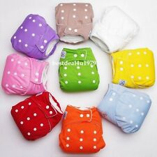 Winter Reusable Baby Infant Nappy Cloth Diapers Soft Covers Adjustable Free Size