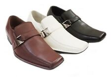 NEW *DELLI ALDO* FASHION MENS DRESS SHOES LOAFERS SLIP ON COMFORT LEATHER LINED