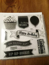 Close To My Heart - D1529 Cricut Artiste Collection Birthday stamp set