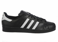 NEW MENS ADIDAS ORIGINALS SUPERSTAR CASUAL SHOES TRAINERS BLACK / WHITE / BLACK