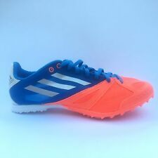 Adidas XCS 3 M NO Spikes Running Track Field G62983 Blue Neon Orange Silver New