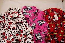NWT WOMANS' DISNEY MICKEY MOUSE, MINNIE MOUSE- WINTER BATH ROBE Size S M L XL