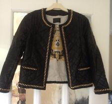 �� Girls Fab Leather Look Jacket By River Island! Age 10yrs ��