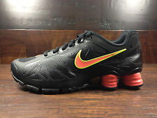 Nike Shox Turbo 14 (Black / Lava / Volt) Running [631760-017] Mens Sz 7.5 - 12