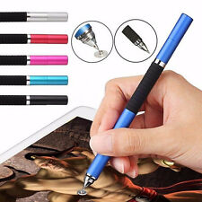 Universal 2in1 Capacitive Touch Screen Stylus Pen For iPhone iPad Samsung Tablet