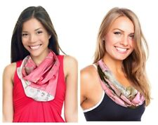 Realtree Pink Camo Infinity Scarf CHLOE Womens APC Camo & Lace Circle Eternity