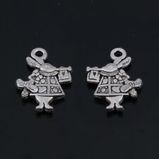20*15mm 30pcs Rabbit Charms Bronze Plated Animal charms Fit Jewelry making