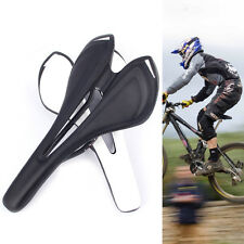 Carbon Fiber Saddle Bicycle Seats Cycling Road Mountain Bike Seat Black comfily