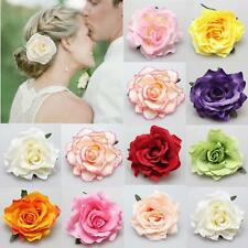 Hairpin Wedding Bridesmaid Hair Clip Party Brooch Bridal Accessories Rose Flower