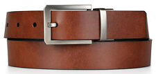 KENNETH COLE 11KC02X015 093 30MM BLACK TEXTURED BROWN SMOOTH REVERSIBLE BELT