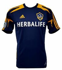 MLS Los Angeles Galaxy Men's Training Top Jersey adidas Authentic Apparel