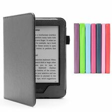 PREMIUM PU LEATHER CASE COVER + SCREEN PROTECTOR FOR AMAZON KINDLE 8 Gen. (2016)