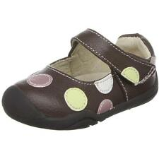 Pediped Grip n Go Giselle Chocolate Leather First Walkers Shoes