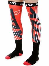 "NEW FOX RACING ""PROFORMA SAVANT"" MX SOCKS - BLACK/RED - M & L - 100% GENUINE"