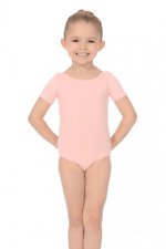 Roch Valley Dance Leotard Pre/Primary Pink Cotton/Lycra Regulation RAD Ballet