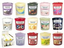 YANKEE CANDLE SAMPLERS VOTIVE CLASSIC SCENTED ALL FRAGRANCES CANDLES SMALL