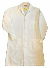 Red Kap Unisex Specialized Cuffed Work Uniform White Lab Coat KP70WH