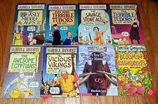 10 HORRIBLE HISTORIES ~ SCIENCE ~ GEOGRAPHY Children Books TERRY DEARY