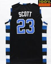 NATHAN SCOTT 23 ONE TREE HILL RAVENS BASKETBALL JERSEY SCOTT BLACK SHIRT 23