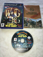 Wallace & Grommit Curse of the Were-Rabbit Playstation 2, PS2 Game - PAL