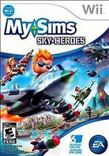 MySims SkyHeroes Nintendo Wii, 2010 Game New Sealed Free Shipping E-Everyone