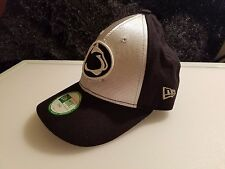 New Era Child Black Silver Panther Cougar Team One Size Velcro Snapback Cap Hat