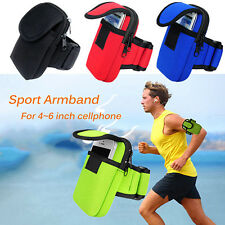 Hot Cycling Sports Running Cell Phone Arm Band bag wrist Pouch Key Package Cool