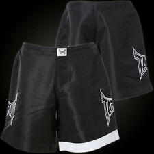 Tapout White Stripe Boardshorts Black