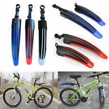 Bicycle Cycling Front Rear Mud Guard Mudguard Set Mountain Bike Tire Fender