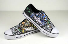 Ed Hardy Kids Tiger Splatter 100 Shoes Black 29FLR104K