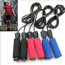 1pc Speed Fitness Aerobic Exercise 3m Adjustable Boxing Skipping Jump Sport Rope