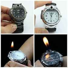 Military Lighter Gas Cigarette Cigar Lighter Refillable Butane Wristwatches Gift