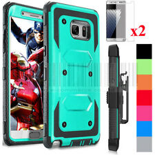 Shockproof Rubber Hybrid Hard Belt Clip Case Cover For Samsung Galaxy Note 7