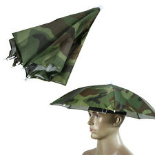Headwear Umbrella Hat Cap Beach Sun Rain Fishing Camping Hunting Multi-Color