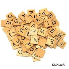 A to Z Wooden Scrabble Tiles Scrabble Letter Individual Letters Tile Varnished